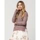 FULL TILT Essential Scoop Neck Womens Sweater