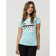 NEFF Disney Collection Stripe A Dot Womens Tee
