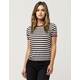VANS Skate Patch 2 Womens Ringer Tee