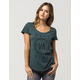 RVCA High End 3 Womens Tee