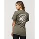 REBEL8 Two Face Womens Pocket Tee