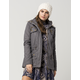 FULL TILT Quilted Faux Fur Womens Anorak Jacket