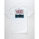 VANS Shark Stripe Boys Pocket Tee