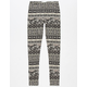 FULL TILT Mix Media Girls Leggings