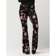 PATRONS OF PEACE Floral Womens Flare Pants