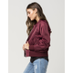 FREE PEOPLE Midnight Womens Bomber Jacket