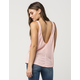 FREE PEOPLE Sleek N Easy Womens Tank