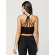 FULL TILT Strappy Lattice Womens Crop Top