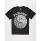 FAMOUS STARS & STRAPS Pin Pang Mens T-Shirt