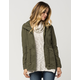 FULL TILT Hooded Twill Womens Anorak Jacket