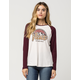 VANS Thermal Womens Raglan Tee