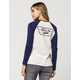 VANS Authentic Trap Boyfriend Womens Raglan Tee
