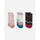 STANCE Toddler Girl Sleigh Ride Socks Box Set