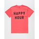 THE POSTER LIST Happy Hour Mens T-Shirt