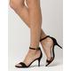 WILD DIVA Velvet Strap Womens Heels