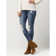 CELEBRITY PINK Destructed Womens Skinny Jeans