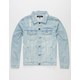 ELWOOD Truck Stop Mens Ripped Denim Jacket