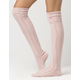 FREE PEOPLE Fray Pointelle Over The Knee Socks