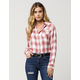 WHITE CROW Open Canyon Womens Flannel Shirt