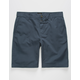 RVCA Week-end Midnight Mens Slim Shorts