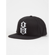 REBEL8 Logo Mens Snapback Hat
