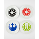 STAR WARS Ceramic Plate Set