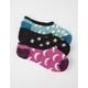 VANS 3 Pack Night Lights Canoodle Girls Socks