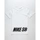 NIKE SB Word Mark Boys T-Shirt
