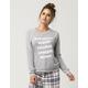 COSMIC LOVE Cocoa Kisses Womens Sweatshirt