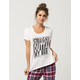 COSMIC LOVE Straight Outta Bed Womens Tee