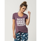 COSMIC LOVE Need More Sleep Womens Tee