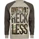 YOUNG & RECKLESS Bars Camo Mens Sweatshirt