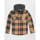 SHOUTHOUSE Cascade Boys Hooded Flannel Shirt