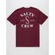 SALTY CREW Salty Hooks Mens T-Shirt