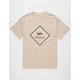 RVCA VA Sideway Lined Mens T-Shirt