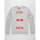 FAMOUS STARS & STRAPS FAF Mens Sweatshirt