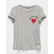 FULL TILT Vote For Love Girls Tee