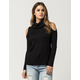 FULL TILT Cowl Cold Shoulder Womens Sweater