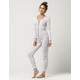 COSMIC LOVE Fair Isle Womens PJ Onesie