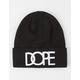 DOPE Logo Cuff Beanie