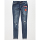 ALMOST FAMOUS Patch Girls Jeans