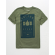 VOLCOM Odyssey Army Mens T-Shirt