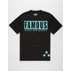 FAMOUS STARS & STRAPS Checker Box Mens T-Shirt