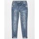 VANILLA STAR PREMIUM Rip & Repair Girls Jeans
