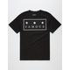 FAMOUS STARS & STRAPS Box Logo Mens T-Shirt