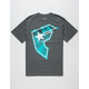 FAMOUS STARS & STRAPS Island Daze Mens T-Shirt