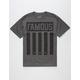 FAMOUS STARS & STRAPS Striper Mens T-Shirt