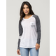 RIP CURL Surf Bird Womens Raglan Pocket Tee