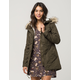 FULL TILT Sherpa Fur Womens Parka Jacket