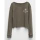 FULL TILT Good Vibes Only Girls Cozy Sweatshirt